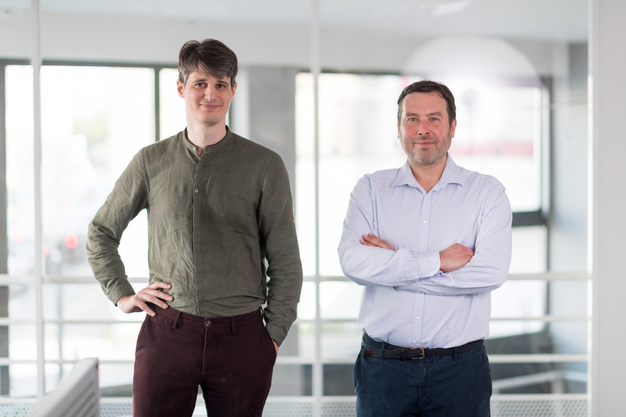 Fabrice Beck et Fabien Van Herreweghe